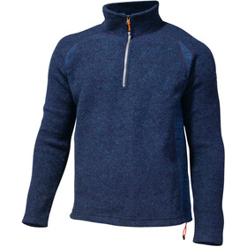 Ivanhoe of Sweden Jesper Sweater met Halve Rits Heren, navy